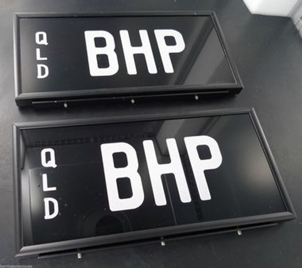 Motor Vehicle Plates