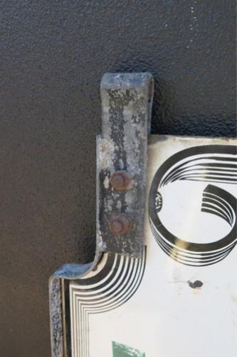 RARE c1940s COCA COLA LARGE DOUBLE SIDED HANGING PORCELAIN SIGN. 1.34M x 46CM