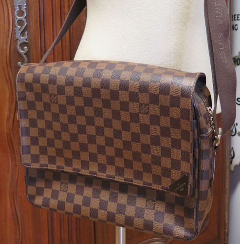 Authentic Louis Vuitton Damier Shelton Messenger Bag MM N41149