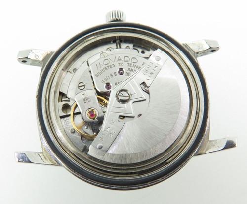 Vintage Movado Chronometer Kingmatic Esquire Sub Sea 28j steel mens watch