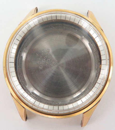 Rare vintage Seiko 829010 Sportsmatic Diashock case, crown & case back