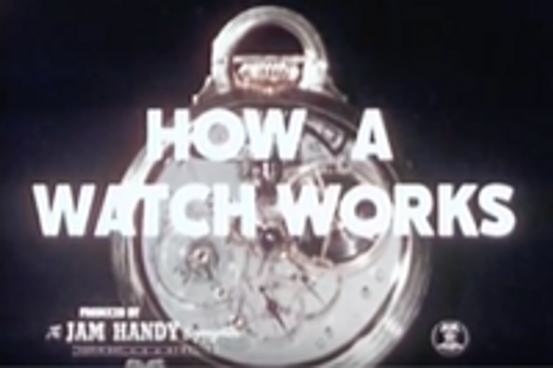 How a watch works (1949)