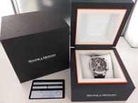 Baume & Mercier Riviera XXL Automatic Chronograph Mens Watch 8755 Box & Docs