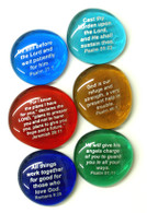 Scripture Stones II, set of six