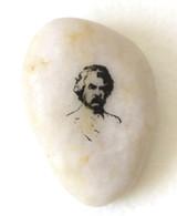 River Rock- Mark Twain's portrait