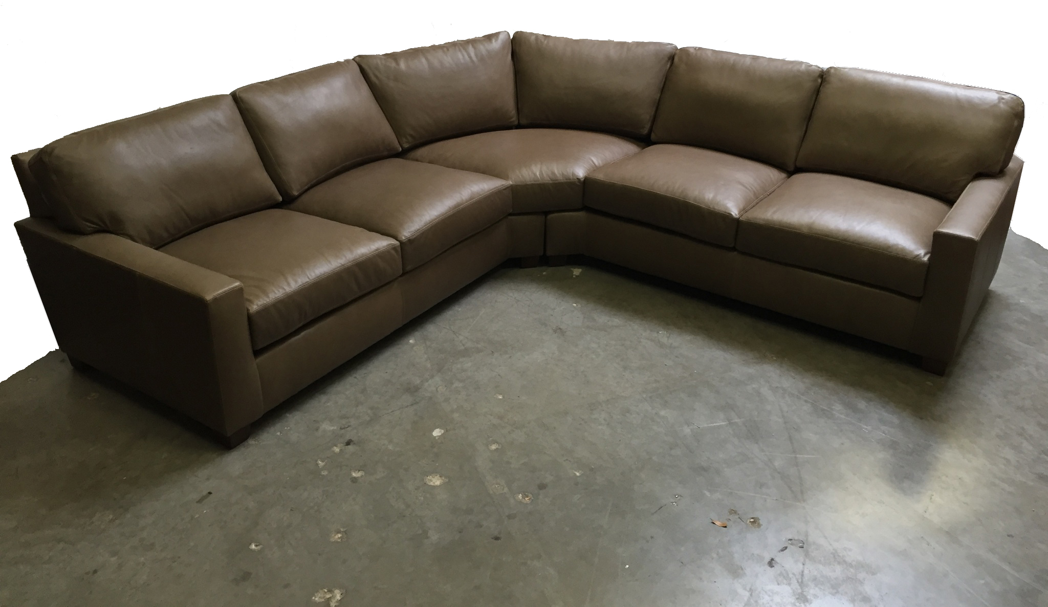Track Arm Extra Deep Sectional in Harness anthracite