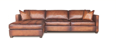 Brown Vintage Arizona Sectional by Presidential
