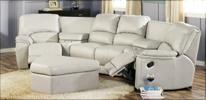Palliser Dallin sectional Sofa in Off white