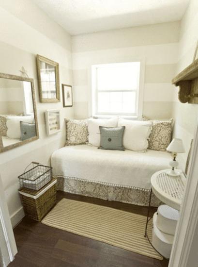 Odd guest room