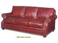 220 Warner Scooped Arm Custom series Sofa Model 220-95