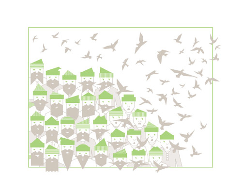 Baltimore Print Studio - Birds of a Feather