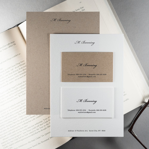 The Aristocrat - Notecard & Calling Card Set