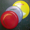 Disc weight range and colours will vary.