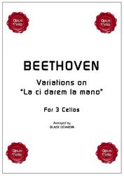 """Ludwig van BEETHOVEN, Variations on """"La ci darem la mano"""""""