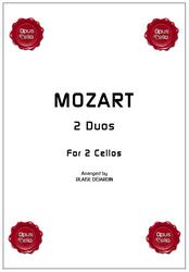 Wolfgang Amadeus MOZART, 2 Duos