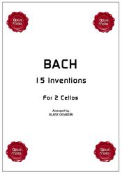 Johann Sebastian BACH, 15 Inventions for 2 Cellos
