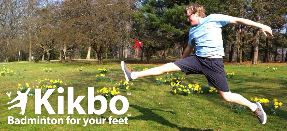 Kikbo Kick Shuttlecocks; Badminton for Your Feet