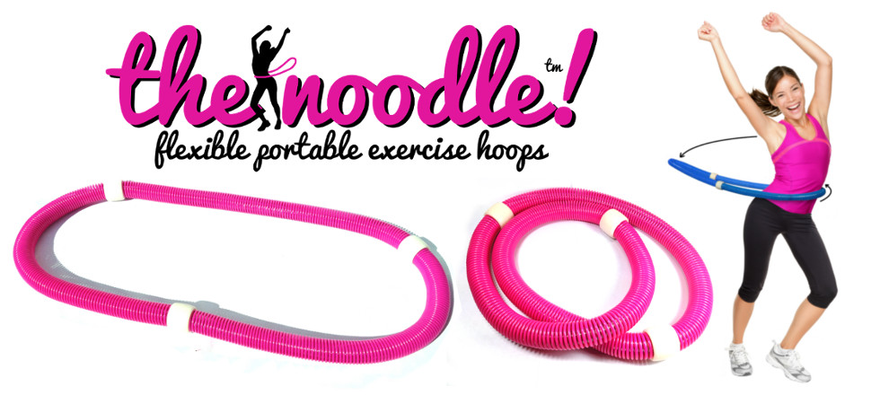 The Noodle; fleixble portable exercise hoops