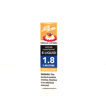 E-Liquid 1.8% - Vanilla Custard