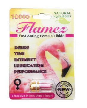FLAMEZ 10000 - Fast Acting Female Libido