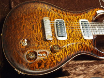 Pre Owned PRS Private Stock DC245 Black Gold Quilt