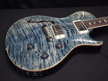 PRS P245 Semi Hollow Faded Whale Blue 10 Top