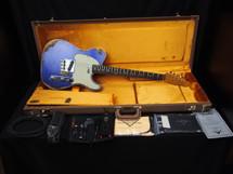 2015 Fender Custom Shop 1960 Telecaster Heavy Relic Purple Sparkle