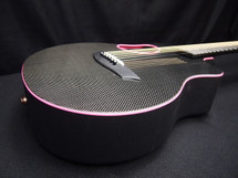 McPherson Kevin Michael Touring GLOSSY BLACK CARBON TOP AND PINK BINDING