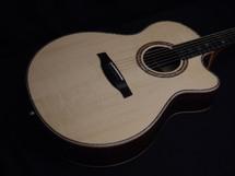 PRS Private Stock Alex Lifeson Brazilian Thinline Angelus Acoustic Preowned