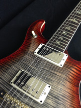 PRS 594 Charcoal Cherry Burst 10 Top Rosewood Neck