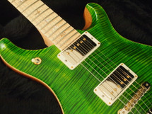 PRS McCarty 594 Emerald 10 Top with Maple Neck