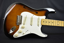 Fender Eric Johnson Signature Stratocaster Thinline 2 Tone Sunburst