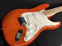 Preowned Fender Custom Shop Stratocaster Custom Deluxe Orange
