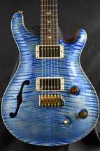 PRS WOOD LIBRARY CU22 SEMI HOLLOW Faded Blue Jean