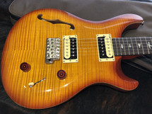 PRS SE Custom 22 Semi Hollow Vintage Sunburst