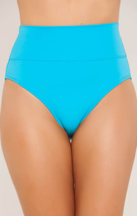 Turquoise High Rise Bottom by Tara Grinna