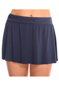 Jersey Skirted Bottom - Slate