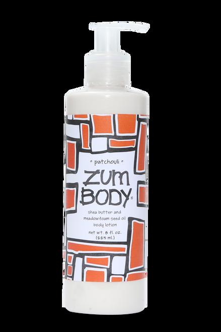 Shop for All-Natural paraben free Zum Indigo Wild Patchouli Body Lotion