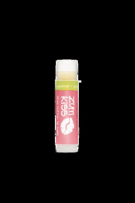 Grapefruit Zum Kiss Stick Shea Butter Lip Balm Indigo Wild 0.15oz