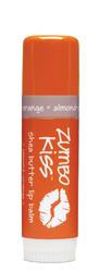 Almond Orange Zumbo Jumbo Kiss Stick Shea Butter Lip Balm Indigo Wild
