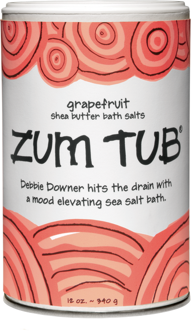 Buy Grapefruit Zum Tub Bath Salts here at Archway Variety