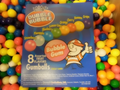 "Assorted Dubble Bubble Gum Balls .63"" 16mm 1 lb"