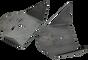 Bat Wing Air Bag Brackets (pair)