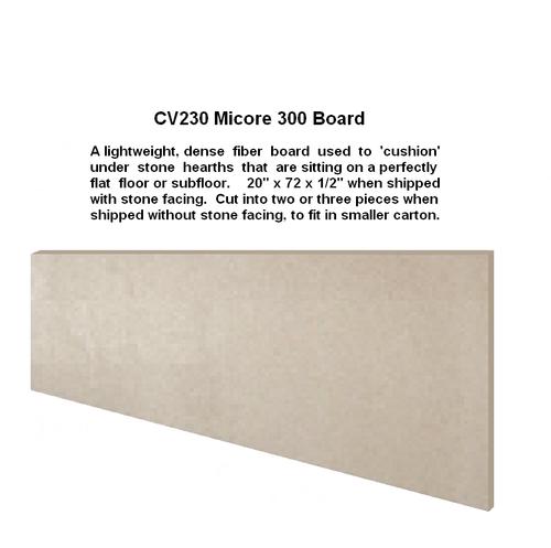 Micore CV230 White Fiber Board