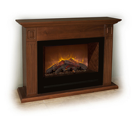 The Briarwood in Cinnamon Brown is a traditional cabinet mantel for use with the Modern Flames HF36 Electric Fireplace