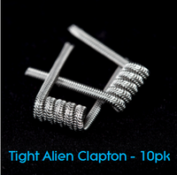 Pre-Built Tight Alien Clapton Coils (10pk)