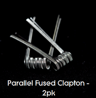 Pre-Built Parallel Fused Clapton Coils (2pk)