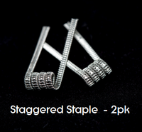 Pre-Built Staggered Staple Coils (2pk)