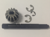 03015 Drive Gear Shaft and E-Clips
