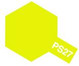 Tamiya PS - 27 Polycarb Spray Fluorescent Yellow